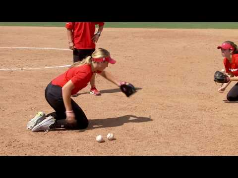 Softball Tips and Techniques Everyday Fielding Drill Coach Holly Bruder