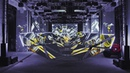 Lamborghini Urus Kinetic Projection Show 4K