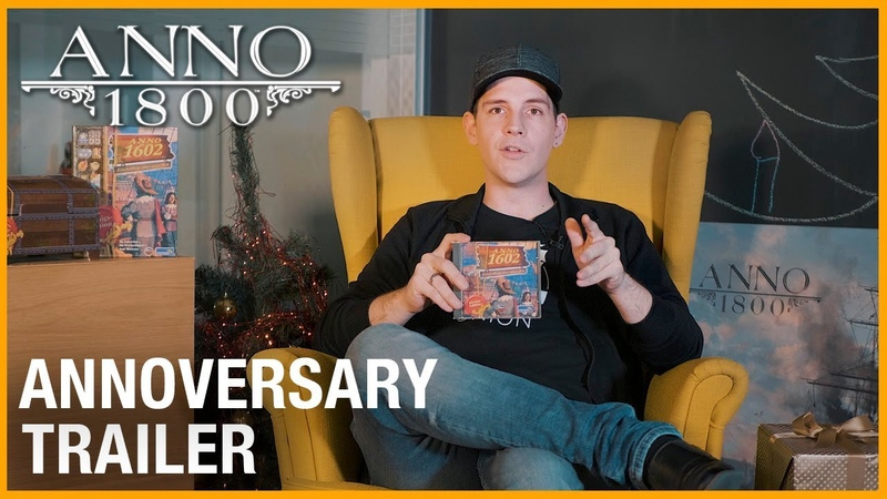 Anno 1800: Трейлер 20й годовщины