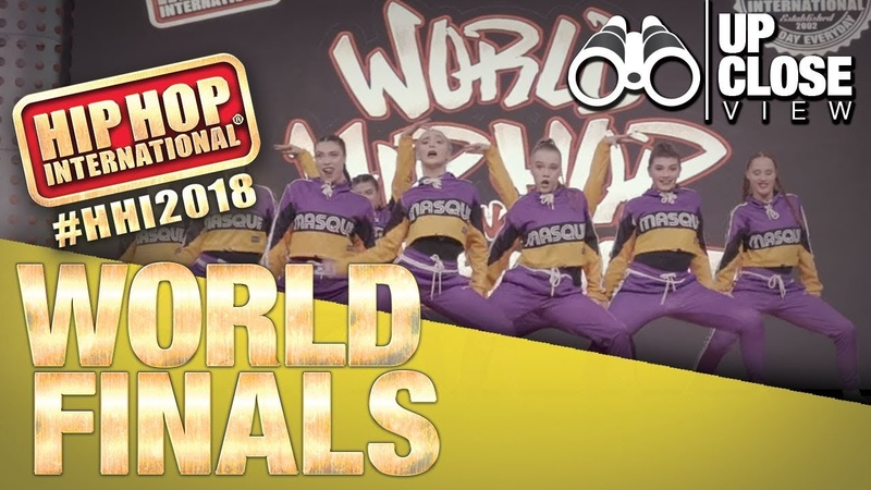 UpClose View: Masque - New Zealand | Bronze Medalist Varsity Division at HHI's 2018 World Finals