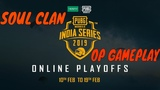 OPPO x PUBG MOBILE India Series Round One Day 1 - Part 1 Hindi Online Playoffs HIGHLIGHT
