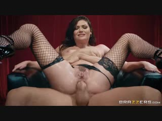 Jessica Rex - Porn Puppet On A String ( BRAZZERS lingerie fishnet stockings anal cumshot cum on face hardcore gonzo )