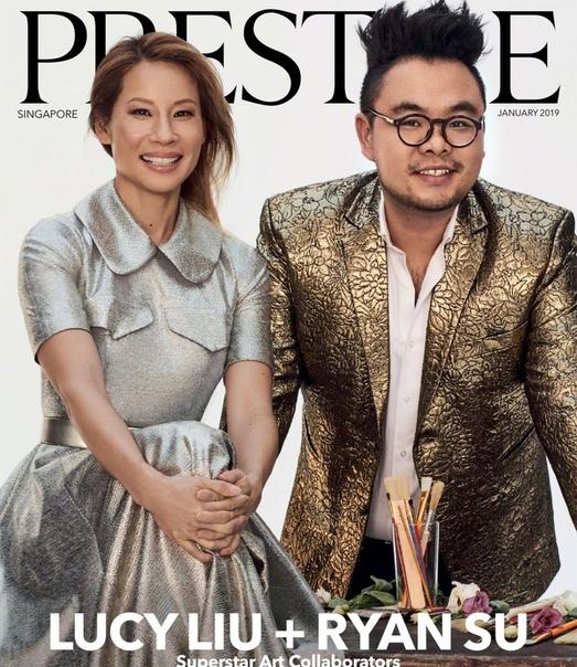 Люси Лью и Райан Су Prestige Singapore, Январь 2019