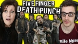 Mom REACTS to METAL FIVE FINGER DEATH PUNCH