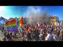 Pierwszy Marsz Równości w Lublinie.LGBT 2018.Люблин сегодня.Протест.Гей парад.Марш Равенства.ЛГБТ.
