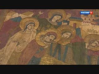 После реставрации вернули плащаницу xvi века