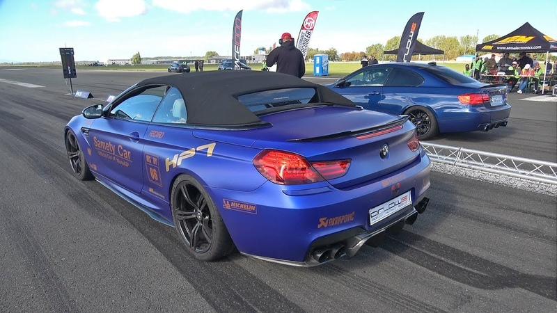 740HP BMW M6 F12 HPT vs 540HP BMW 335i vs 725HP BMW 325i E30 Turbo