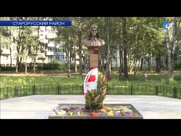 В честь 78-й годовщины основания 123-го авиаремонтного завода открылся памятник Тимуру Фрунзе