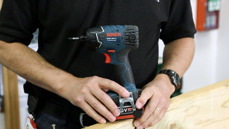 Bosch GDR 18V-Li Impact Driver - Hands-on Demo with Eric