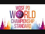 ТВ-съёмка и он-лайн трансляция Чемпионата мира по бальным танцам. ЦМТ Москва 1-2 декабря 2018 года.