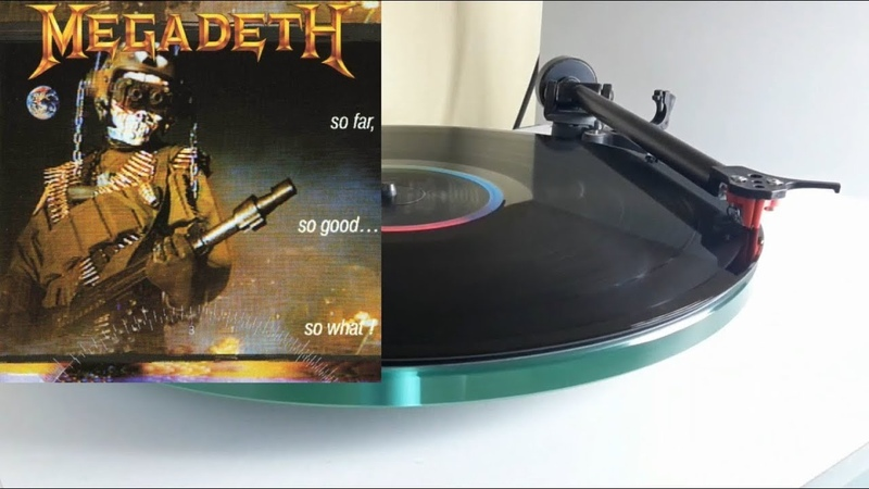 MEGADETH So Far So Good So What side 1 vinyl rip 1080p