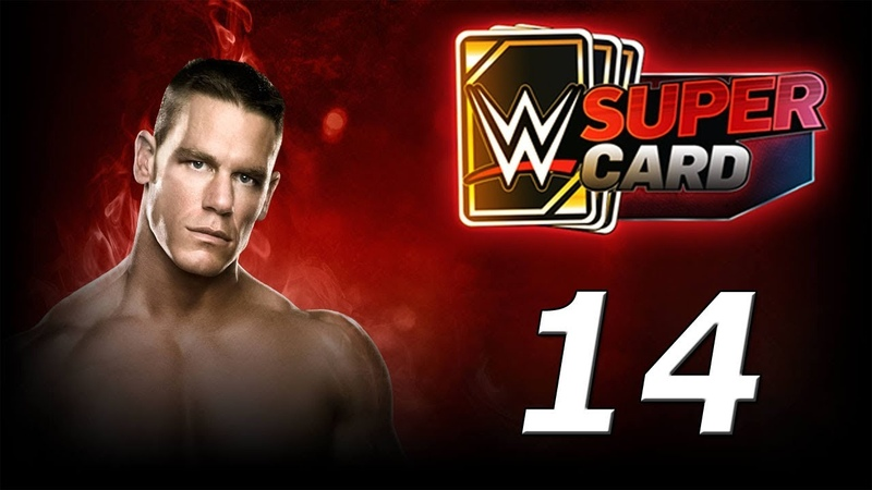 WWE SUPERCARD Карточные бои! №14 Android