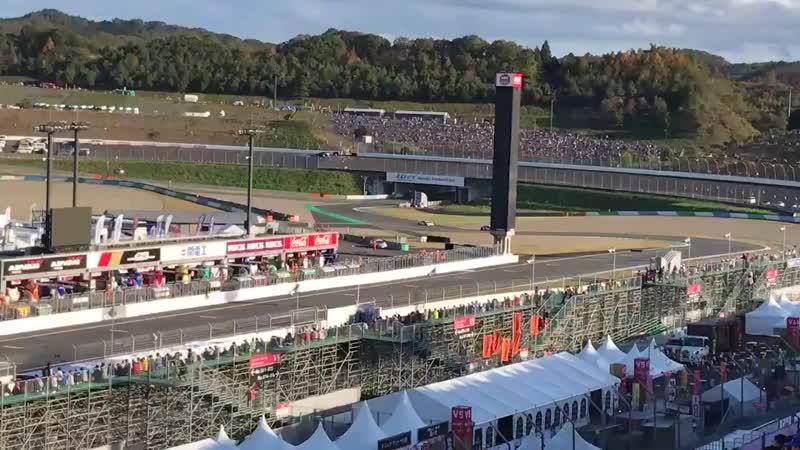 Hatsune Miku AMG on qualifications SUPER GT 2018 Motegi