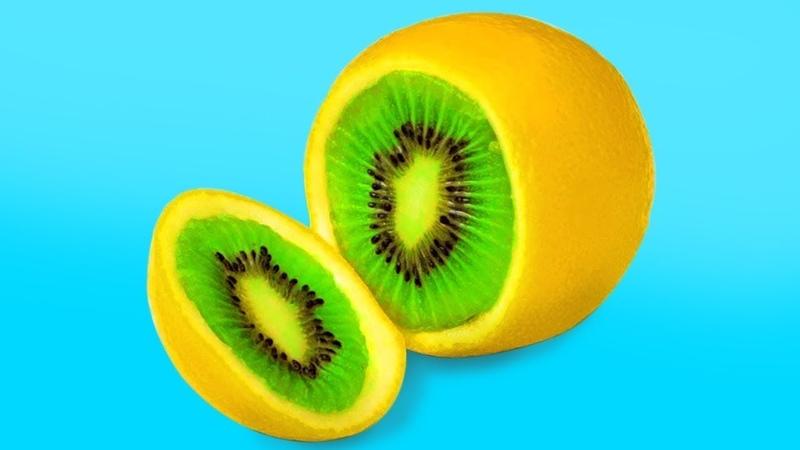 간단한 20가지 과일 조각 아이디어