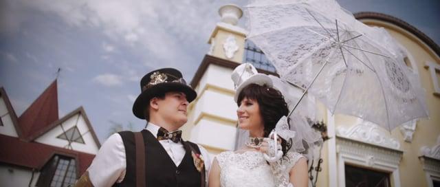 EG-steampunk wedding