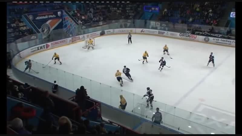 Южный Урал Орск - Дизель Пенза. ВХЛ. Регулярный чемпионат. 01.12.2018