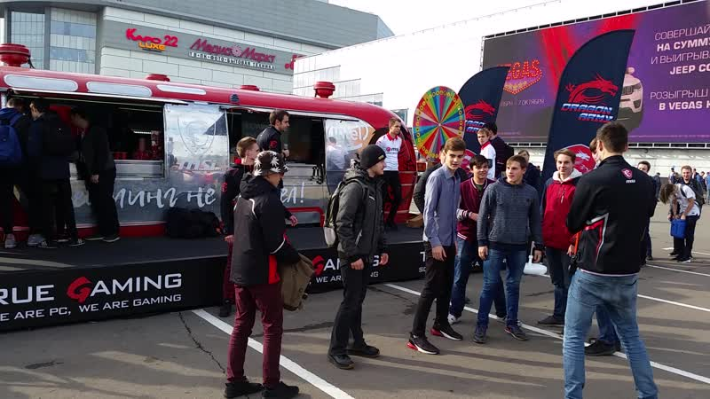У Crocus Expo на Comic Con Russia и ИгроМир 2018. MSI True Gaming