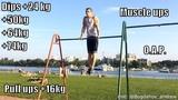 Видео для Vortex Challenge! (Dips +64kg, +74kg, +50kg , +24 kg, pull ups +16kg, OAP , Muscle ups )