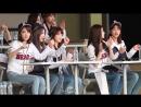 181006 › CY・ IZONE › бейсбольный матч Doosan Bears vs LG Twins