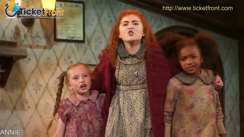 Live Theatre Show ANNIE (Broadway) - Hard Knock Life