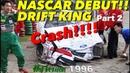 〈ENG-Sub〉まさかのクラッシュ!! 土屋圭市がNASCARに挑戦 Part 2【Best MOTORing】1996