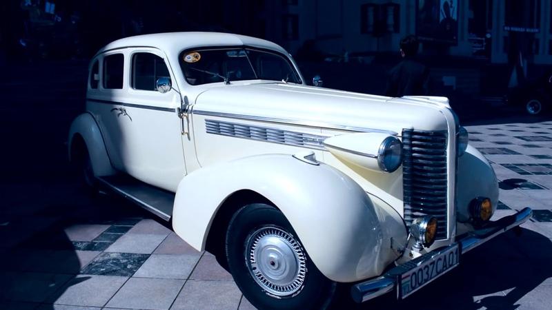 Выставка ретро автомобилей г. Душанбе РахшТакси