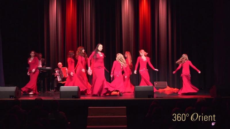 Delanna Ensemble Lazurie - Voi Dance LIVE @ 360° Orient Festival
