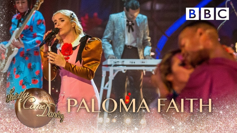 Paloma Faith performs 'Loyal' - BBC Strictly 2018