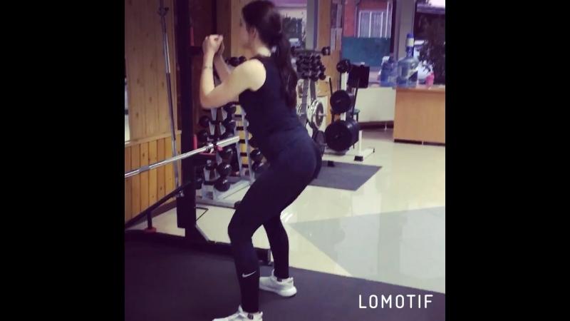 Главное не вес, а правильно сделанное упражнение 👌🏻😎🐻