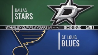 Dallas Stars vs St. Louis Blues | May 07, 2019 NHL | Game 7 | Stanley Cup 2019 | Обзор матча