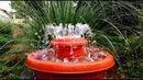 How to make Outdoor Fountain used Plastic Pots / DIY