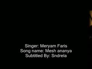 Maryam Fares - Moush Ananeya with english subtitle