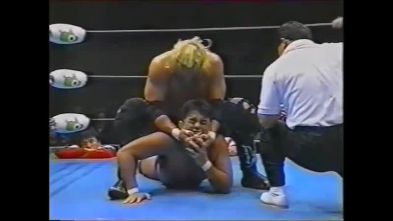 1996.01.12 - Mitsuharu Misawa/Kenta Kobashi/Jun Akiyama vs. Stan Hansen/Gary Albright/Bobby Duncum Jr.