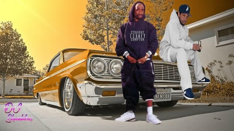 2Pac Eazy-E - No Vaseline (2018 Lowrider Music Video) [HD]
