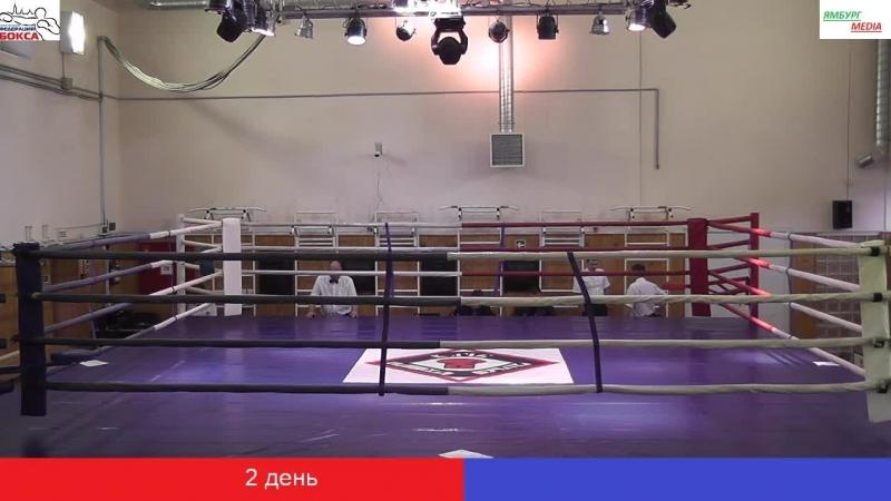2 день Турнира класса Б по боксу памяти ЗТР В А Васина 2018