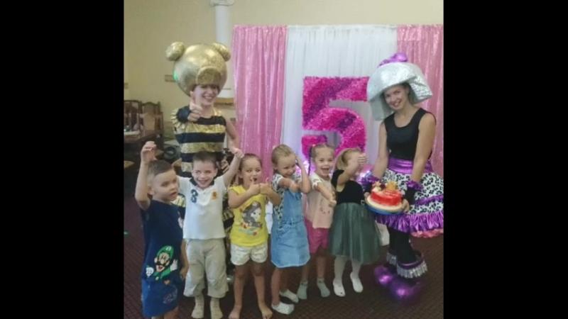 Детские Дни Рождения в семейном кафе Дитячий Простiр!