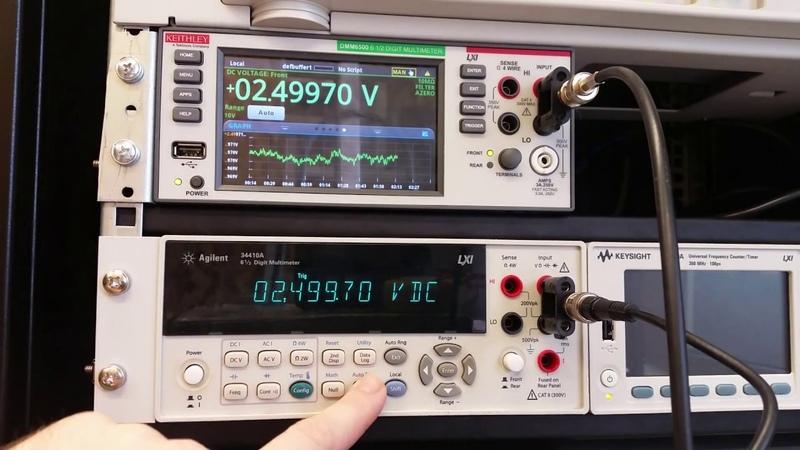 Сага о мультиметрах Keithley DMM6500 и Agilent 34410A (часть 2)