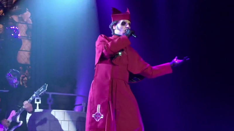 Ghost - Faith NEW SONG - Live - Revention Music Center - Houston TX - May 8, 2018