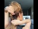 Прекрасная прическа на каждый день для волос средней длины