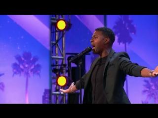 ПАРЕНЬ СПЕЛ ПЕСНЮ Whitney Houston - I Have Nothing на ШОУ Americas Got Talent 20