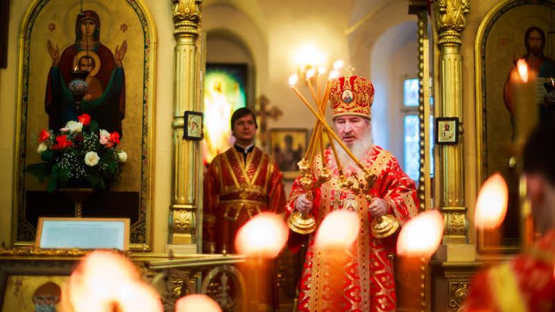 Престольный праздник в Пятницкой церкви города Казани