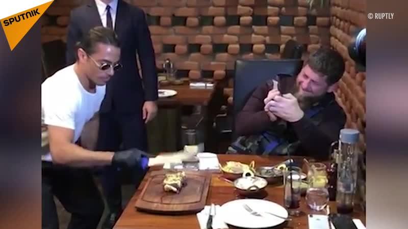 Nusret, bu sefer de Çeçen lider Kadirovun etini tuzladı