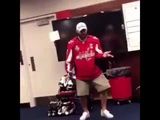 Ovechkin dances to All I Do Is Win by DJ Khaled