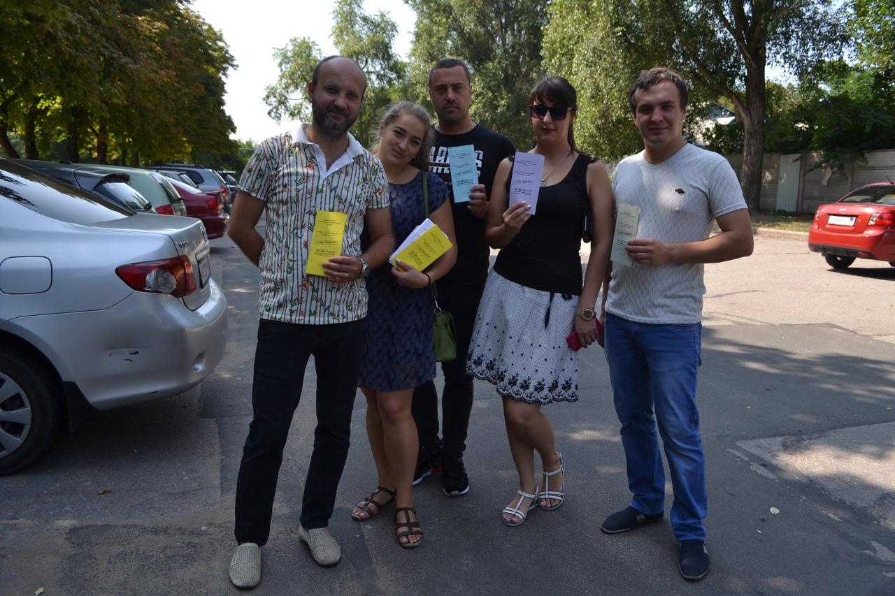 В Куйбышевском районе прошла акция «Стоп гепатит»