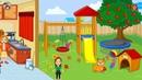 My town 1 семейный дом. Игра для детей. От Иса Киса