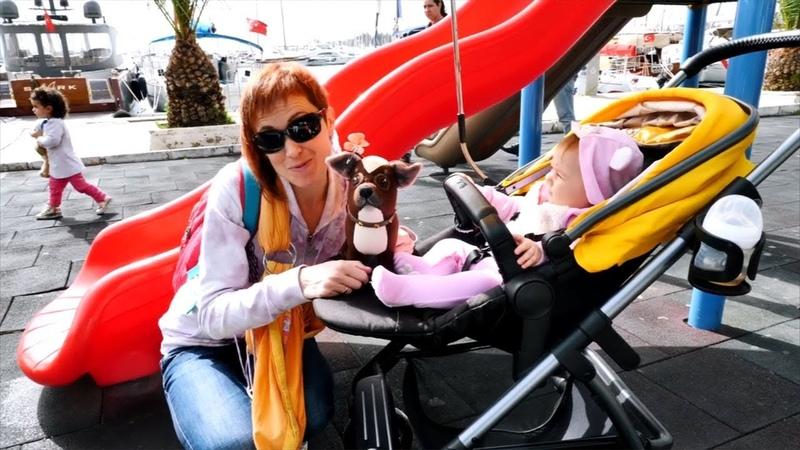 Ciao Bianca - La più bella giornata al parco in altalena con la mamma