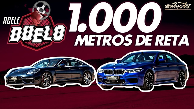 260 KM/H NO RETÃO! BMW M5 E PORSCHE PANAMERA TURBO NA PISTA DO AEROVALE | ACELEDUELO 1 | ACELERADOS