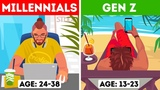 Generations X, Y, and Z Which One Are You