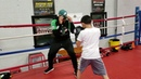 Boxing How to step up over sneaky footwork trick