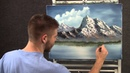 Paint with Kevin - Spring Mountain wet on wet HD